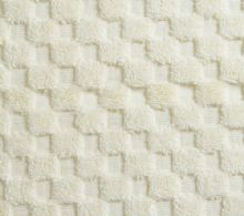 Luxurious linenHall, 850gsm 100% Cotton Reversible Bath Mat in Cream